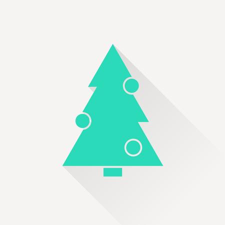 xmas tree: icon of xmas tree