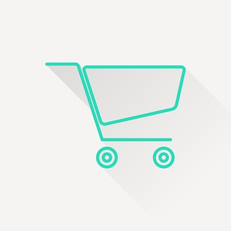 shopping cart icon: icon of shopping cart