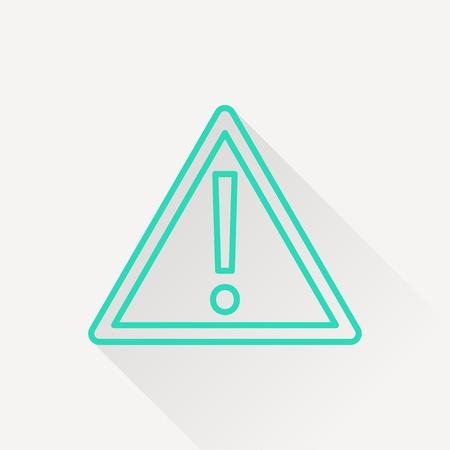warning icon: warning icon Illustration