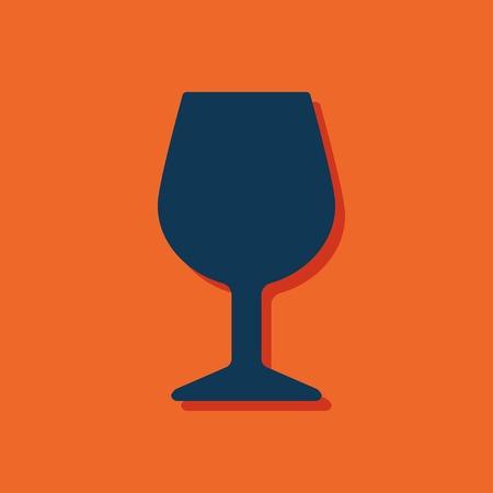 şarap kadehi: icon of wine glass