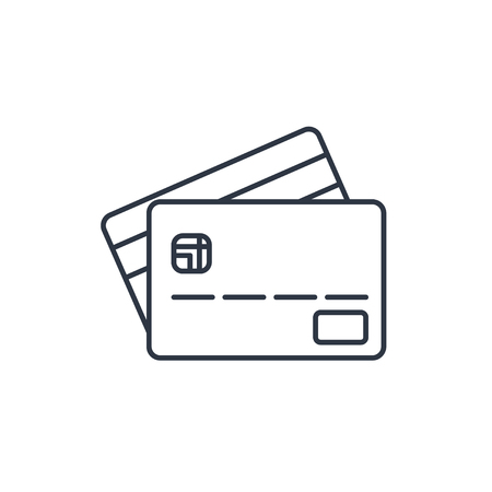 transact: Credit card outline icon