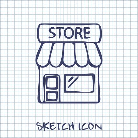 ecommerce icons: Store icon