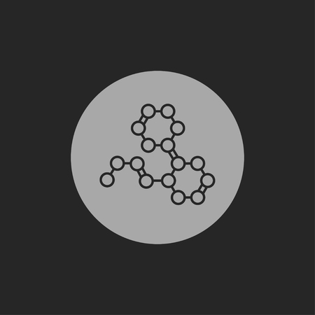 synthetic: Chemical formula icon