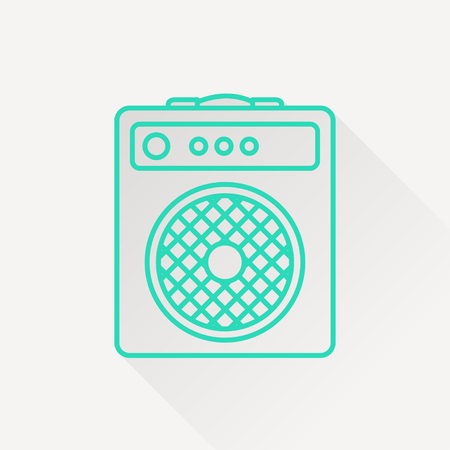 overdrive: guitar amplifier icon