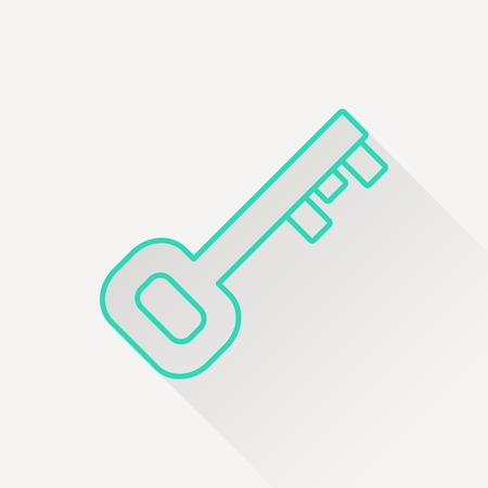 passkey: Old key icon
