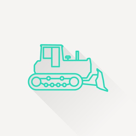 quarry: bulldozer icon