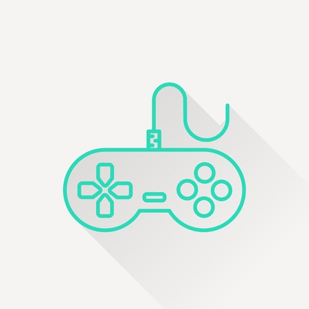 gamepad: Gamepad vector icon