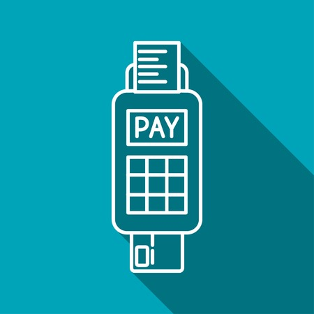 card payment: Credit card payment, chip reading