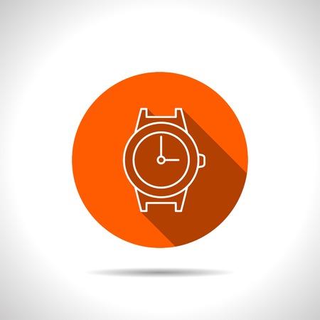 orologio da polso: Icona orologio da polso