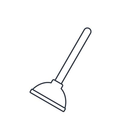 plunger: Toilet Plunger Icon