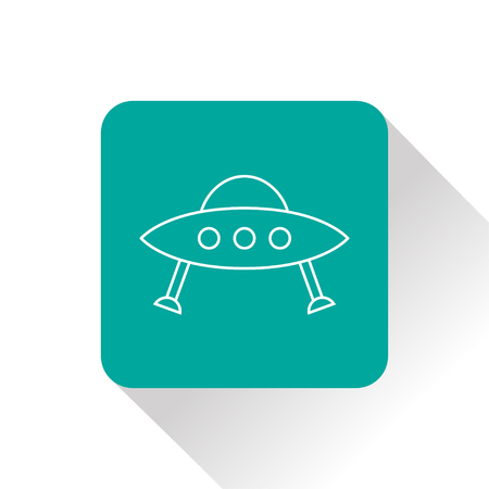 outerspace: UFO Flying Saucer Icon