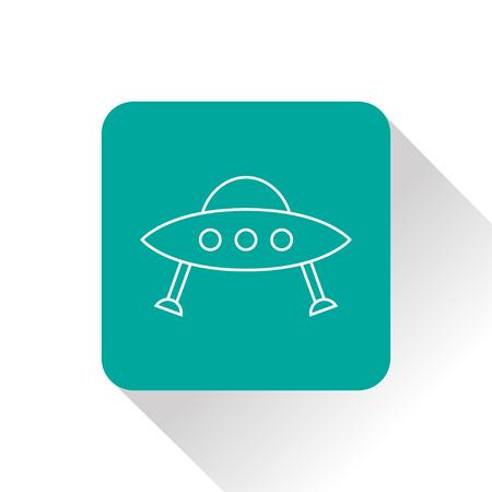 disco volante: UFO Flying Saucer Icon