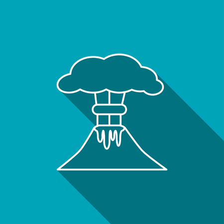 calamiteit: vulkaanberg Uitbarsten icoon