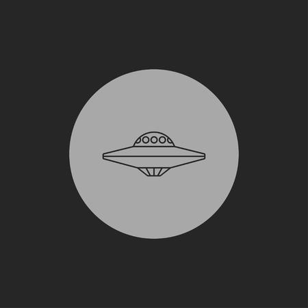 disco volante: UFO Flying Saucer Icona