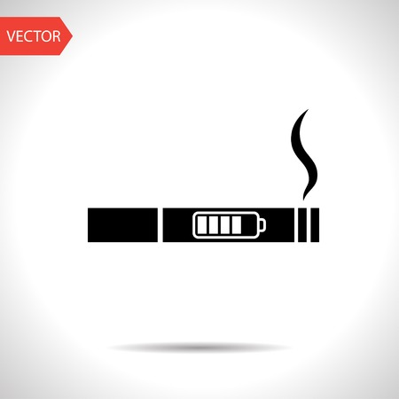 inhalator: electronic cigarettes vector icon