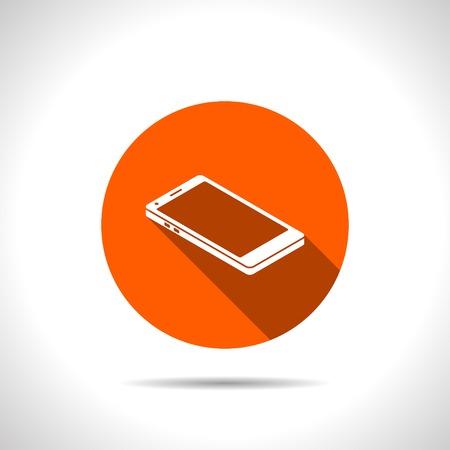 smart phone: smart phone 3d isometric icon