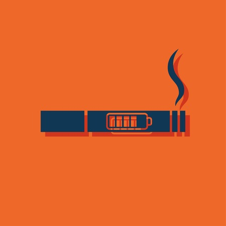 filler: electronic cigarettes vector icon