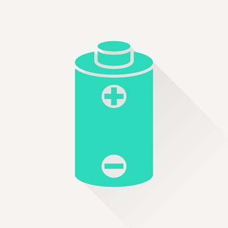 power vector: battery power vector icon