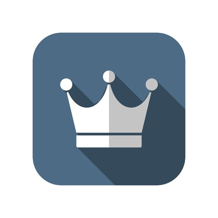 aristocracy: king crown vector icon