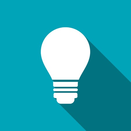 electric bulb: electric bulb vector icon Illustration