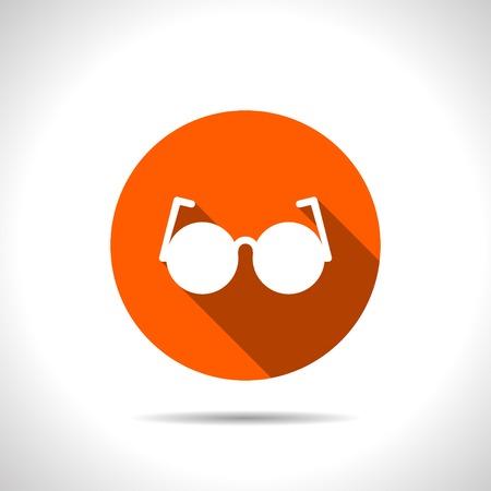 optical: optical glasses vector icon Illustration