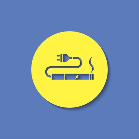 e cig: electronic cigarettes charge icon