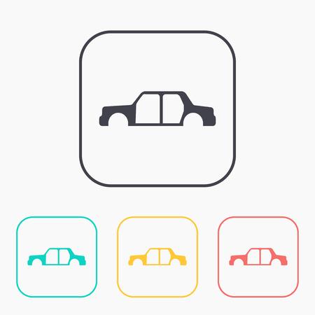 icône de carrosserie couleur jeu