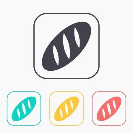 loaf: Vector loaf icon.