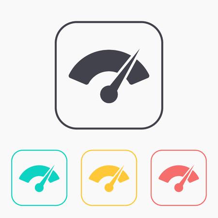instrument panel: Gauge color icon set
