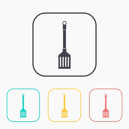 resistant: kitchen icon of cooking scoop