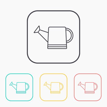 wateringcan: Watering can vector icon