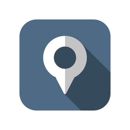 geo: geo marker pin vector icon