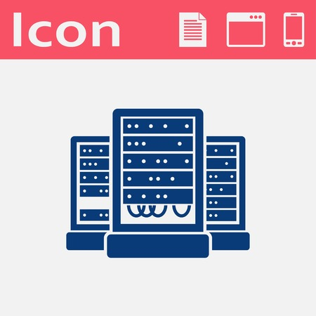 cabinets: server cabinets vector icon