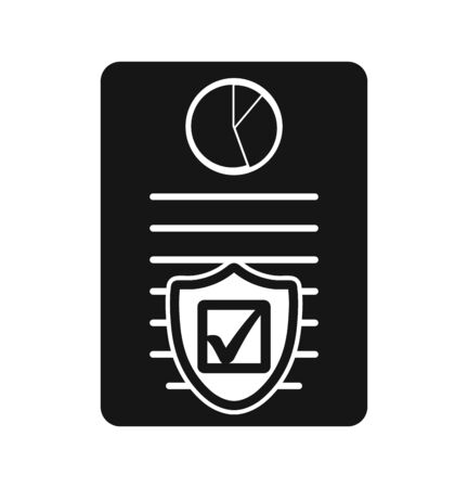 Insurance Icon. Flat style vector EPS.