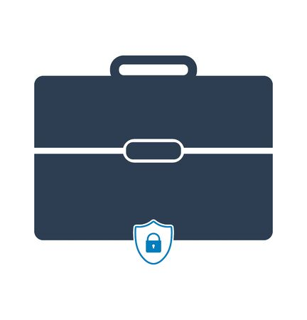 Business Insurance Icon. Flat style vector EPS.