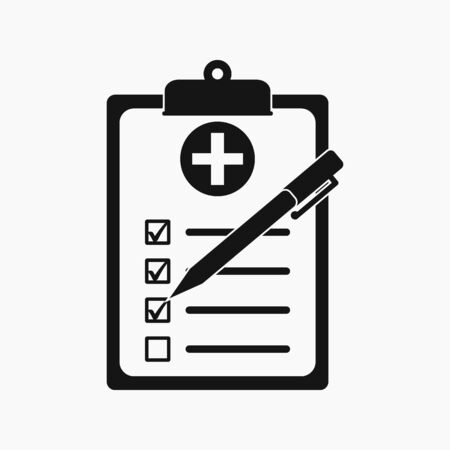 Check list icon. Flat style vector EPS.