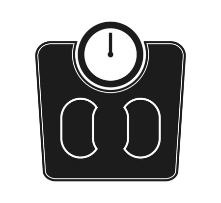 Weight scale icon. Flat style vector EPS.  イラスト・ベクター素材