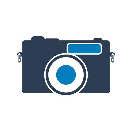 Camera Icon. Flat style vector EPS.  イラスト・ベクター素材