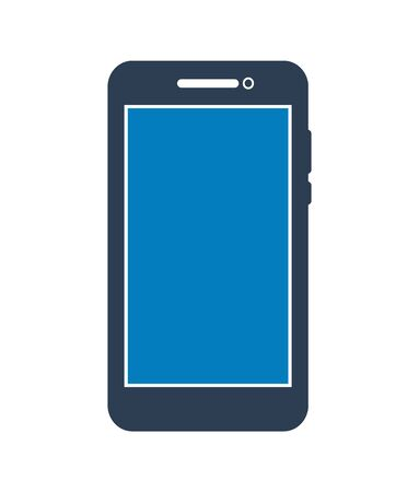 Smartphone Icon. Flat style vector