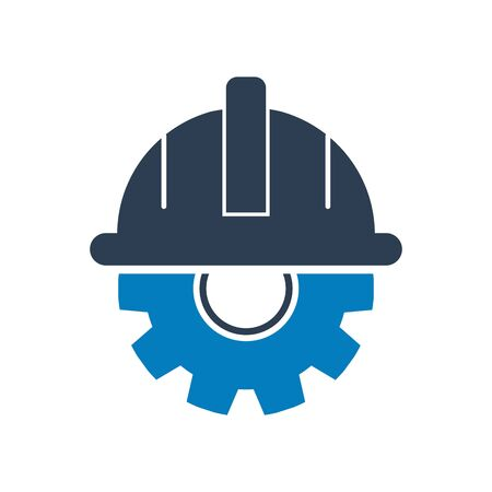 Construction service icon. Flat style vector EPS.