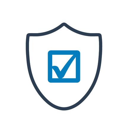 Shield Icon. Flat style vector EPS.