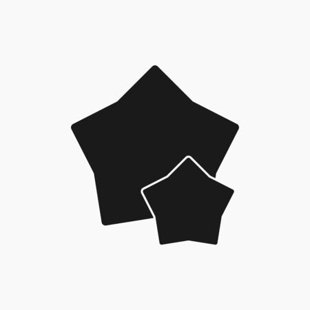 Star, favourite Icon. Flat style vector