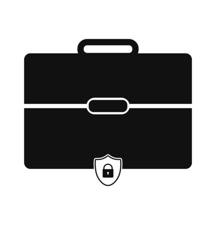 Business Insurance Icon. Flat style vector . Vector Illustration