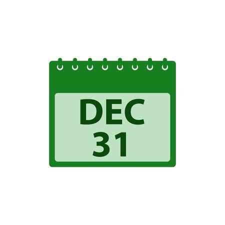 Calendar Icon. Flat style vector  .