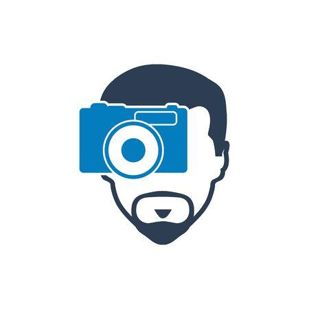 Photographer icon.