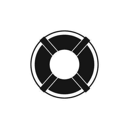 Buoy ring icon.