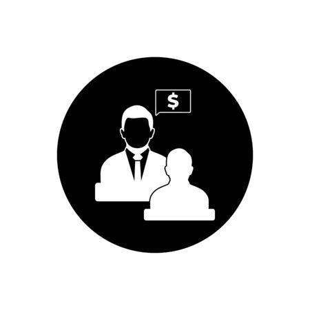 Business, Financial Adviser Icon.