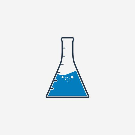 Conical Flask Icon. Editable Vector Symbol Illustration. Ilustrace
