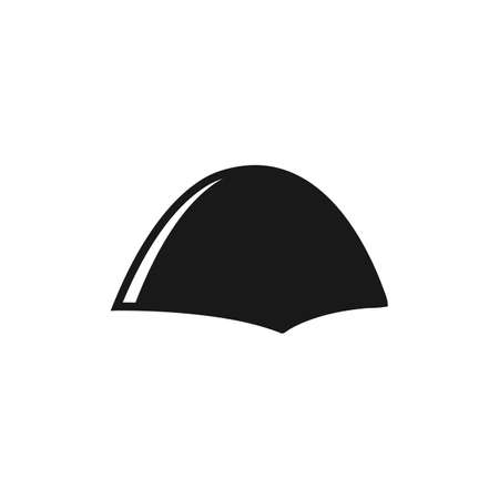 Tent Icon. Editable Vector Symbol Illustration.