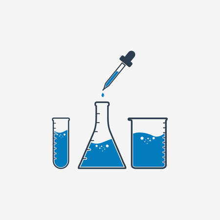 Lab Equipment Icon. Editable Vector EPS Symbol Illustration.  イラスト・ベクター素材